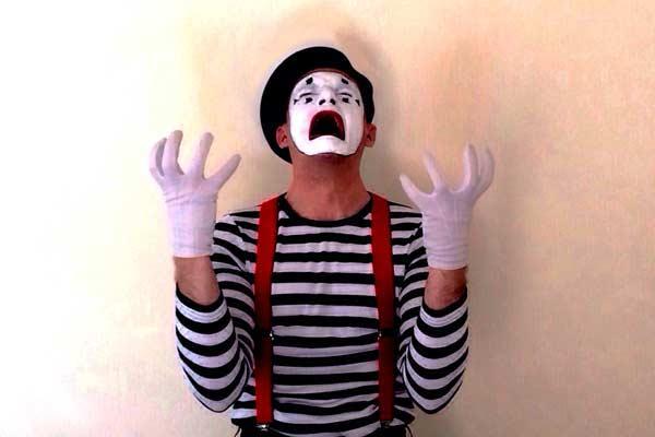 The Mime Guy's Odd Sock