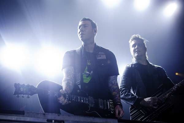 Avenged Sevenfold Sydney Review @ Big Top Luna Park