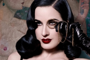 Stripping Down To The Real Dita Von Teese