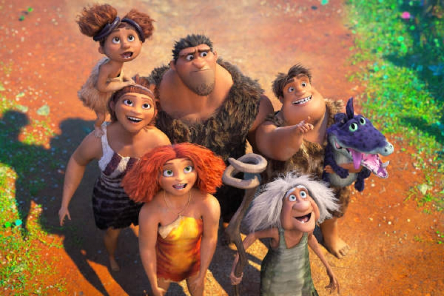 Watch the New Trailer for THE CROODS