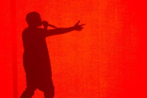 Kanye West at the Brisbane Entertainment Centre 15.09.14